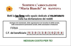 5x1000 Maria Bianchi Mantova ONLUS